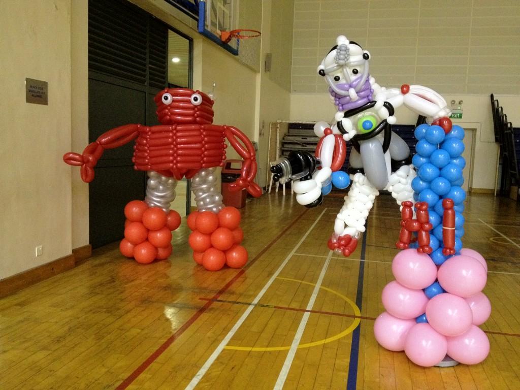 Robot-Baloons
